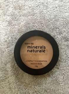 BYS minerals compact powder foundation