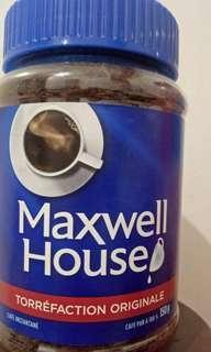 Maxwell house original roast coffee/ torréfaction originale