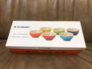 Le Creuset mini bowls