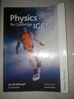 Physics for Cambridge IGCSE