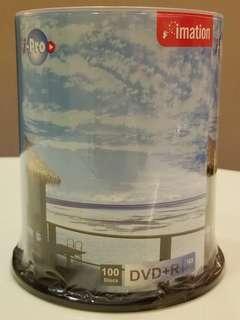 Imation DVD+R 16X 100隻筒裝 全新未開