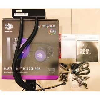 【售-靜音/效能/RGB水冷】酷碼 MasterLiquid ML120L RGB水冷/厚:5.3/RGB(4pin/12V)