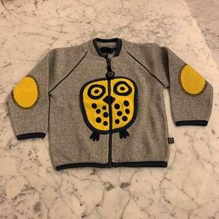 Ej sikke lej grey owl outerwear