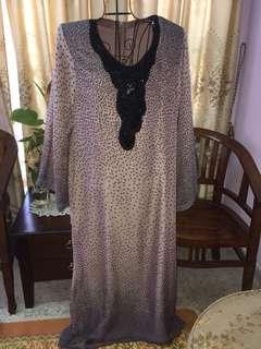 Dress kain chiffon