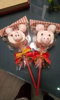 Handmade piggy Marshmellow