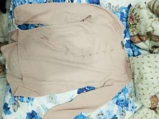 Nude 7/8 blouse #kemejalama