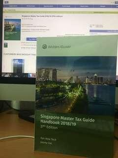 [NEW & SEALED] Singapore Master Tax Guide 2018/19 (37th edition)