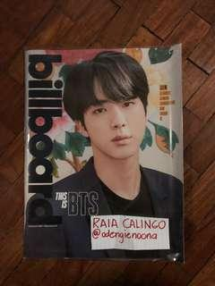 Official BTS Billboard Magazine: Jim Cover