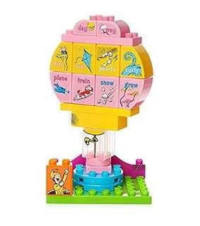 Free Delivery Brand New Mega Bloks Dr. Seuss Oh, the Places You'Ll Go Building Set (20 Piece), Multicolor