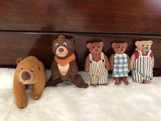 Lot Bear plush toys