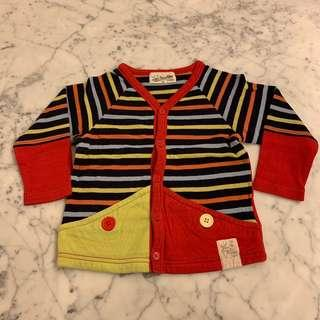 Love Pwace & Money striped outerwear