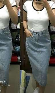 Maong Skirt preloved