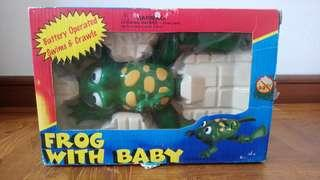 Frog with Baby