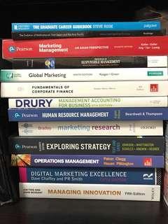 🚚 Kaplan Degree RHUL Management with Marketing Textbooks