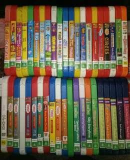 42 KIDS DVD'S!!
