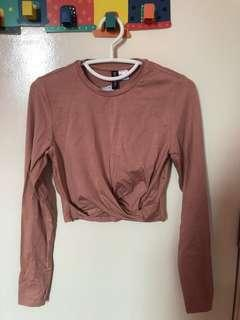 Brand New with tag Pink Crop Top