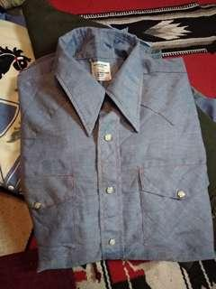 Vintage chambray shirt big mac