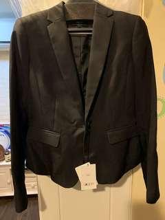 🚚 全新 G2000 slim fit 西裝外套 黑色 34號