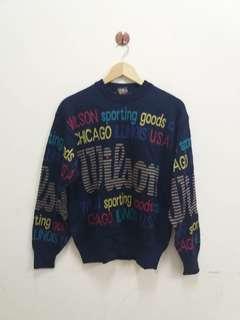 Wilson full print knitwear/sweaters