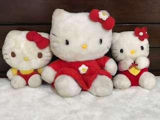 Hello kitty stuffed toy take all