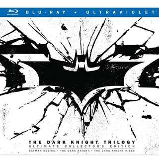 [US IMPORTED] The Dark Knight Trilogy (Ultimate Collector's Edition Blu-Ray Boxset)