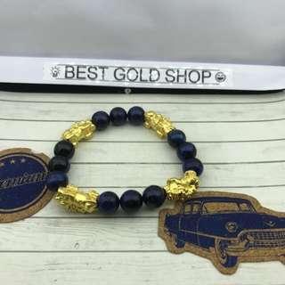 🚚 999 gold pixiu bracelet CNY sale now