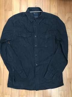 Cotton on black long sleeve shirt