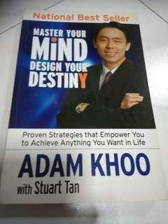 Preloved book Master your Mind Design Your Destiny