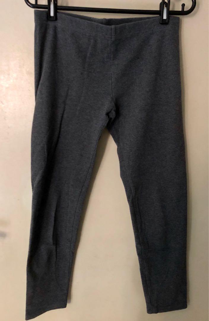 3/4 Grey Yoga Pants