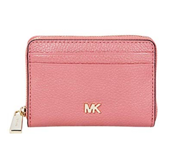 e513cff4eebd ❤ Michael Kors Small Pebbled Leather Wallet, Women's Fashion ...