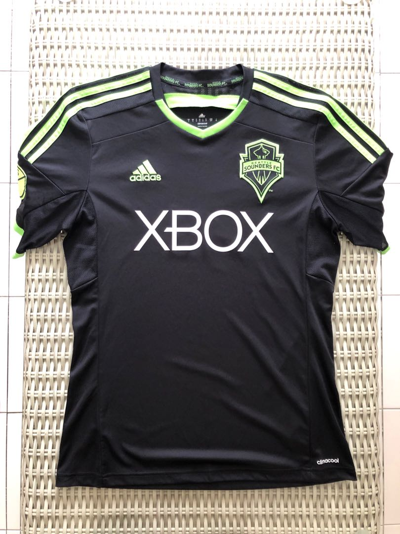 save off 30e2f a73ff Adidas💯% Authentic Seattle Sounders away jersey for SGD$37 (size S)