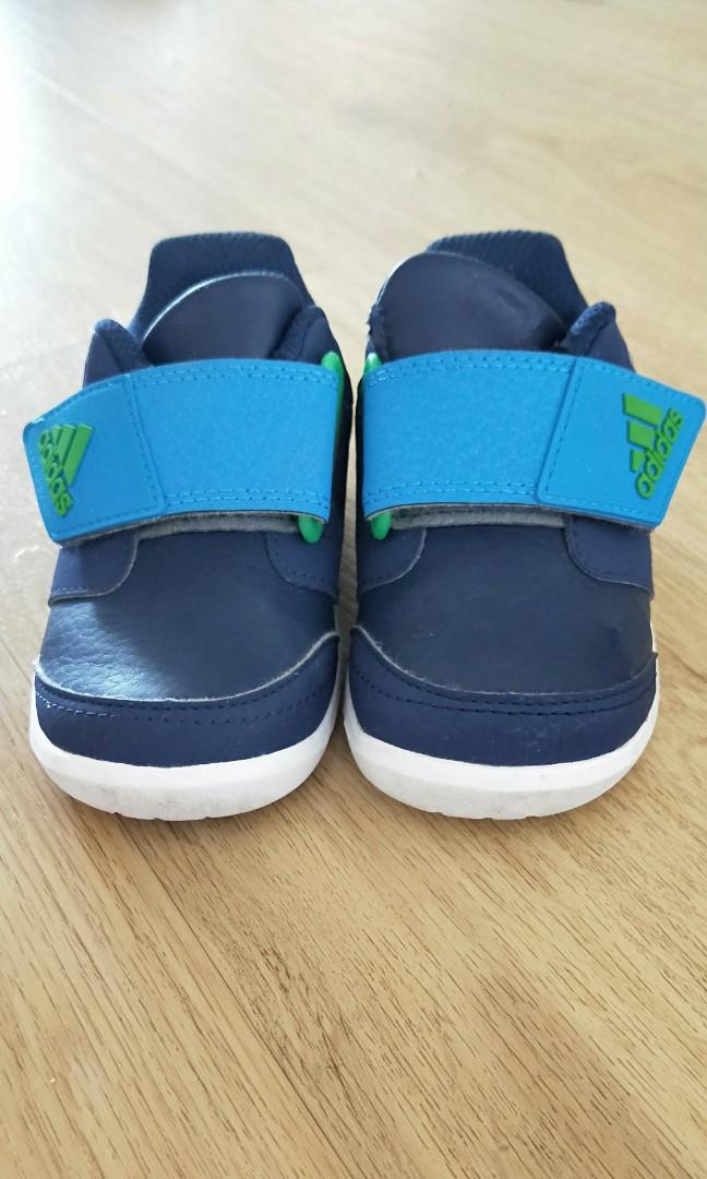 925278a0e01 Adidas Baby Boys Blue Shoes
