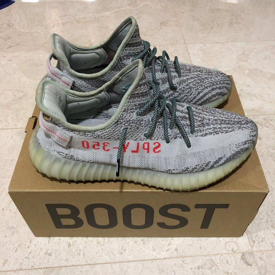 772b6aa86588f Adidas Yeezy Boost 350 V2 Blue Tint US 10