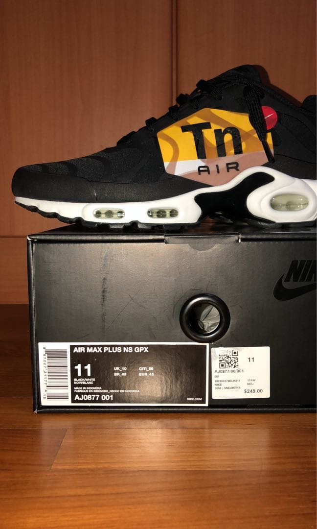 7e8fa4e1b1 Air Max Plus NS GPX, Men's Fashion, Footwear, Sneakers on Carousell