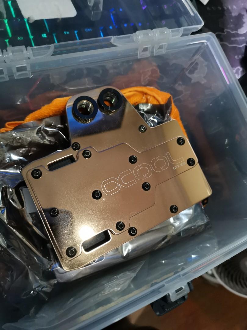 Alphacool GTX670 Full Copper Waterblock x2