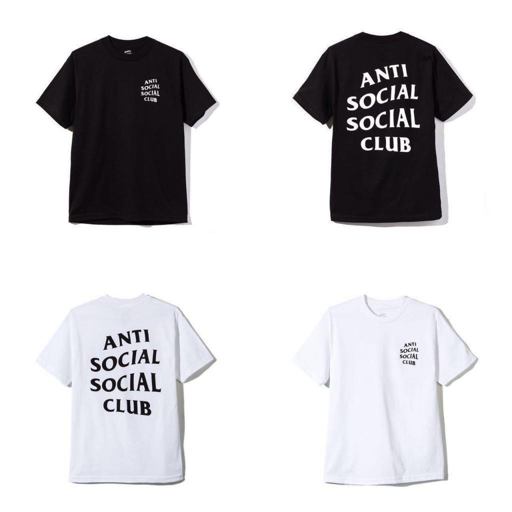 e62eaa089655 Anti Social Social Club Logo Tee