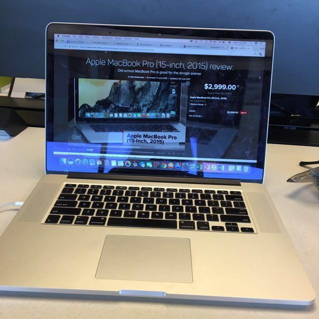 Apple MacBook Pro (15-inch, 2015)