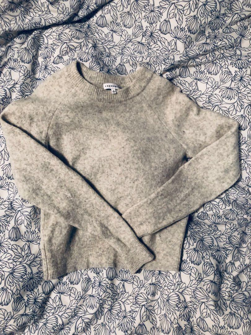 Aritzia Community Madras Sweater (XS)