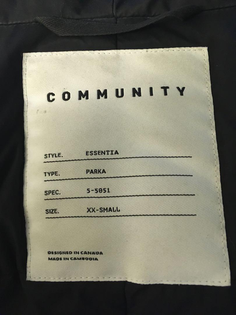 Aritzia Community Parka
