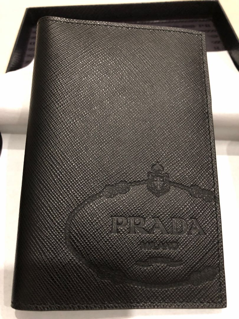 d1ee28d97fd539 Authentic Prada Passport Holder / Cover, Luxury, Accessories, Others on  Carousell