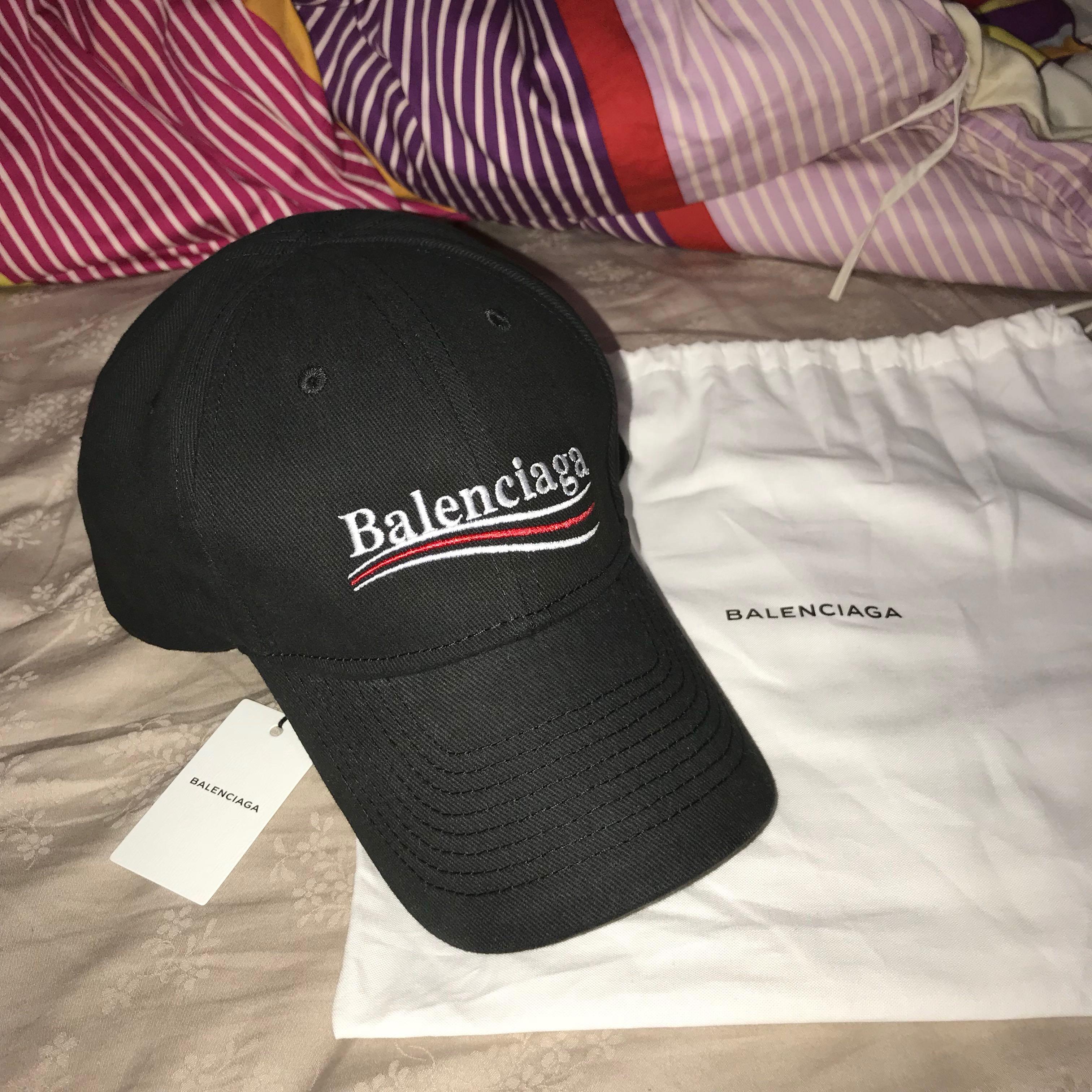 Balenciaga Cap Authentic 15f2e404f03