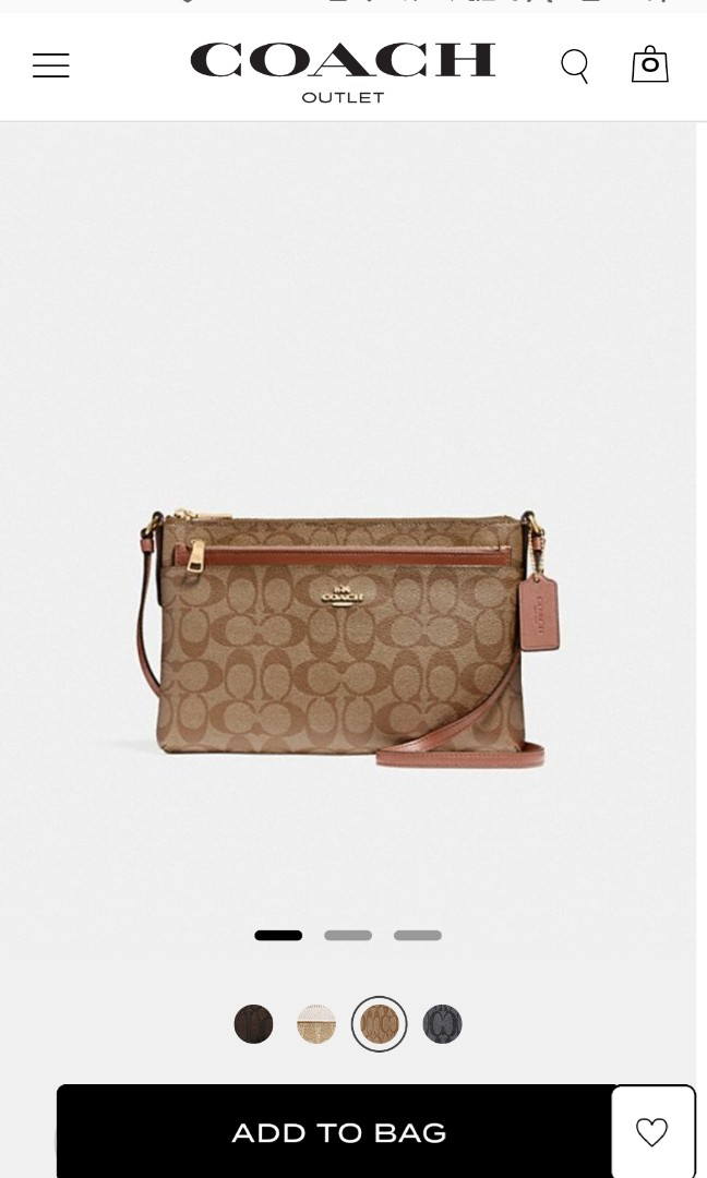 Big Discount!! Brand New Authentic Coach Bag in Brown and Tan ... dd042bc617e96