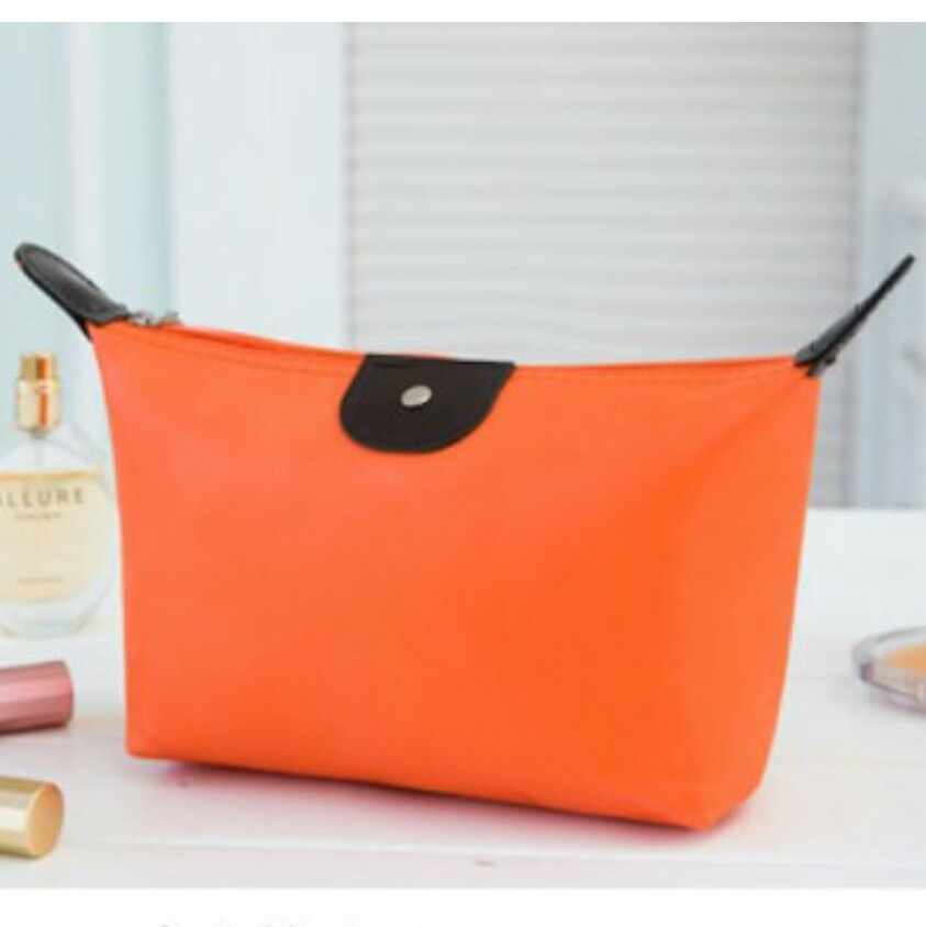 Brand New Orange Small Make Up Cosmetic Pouch 8aa6794dc133d