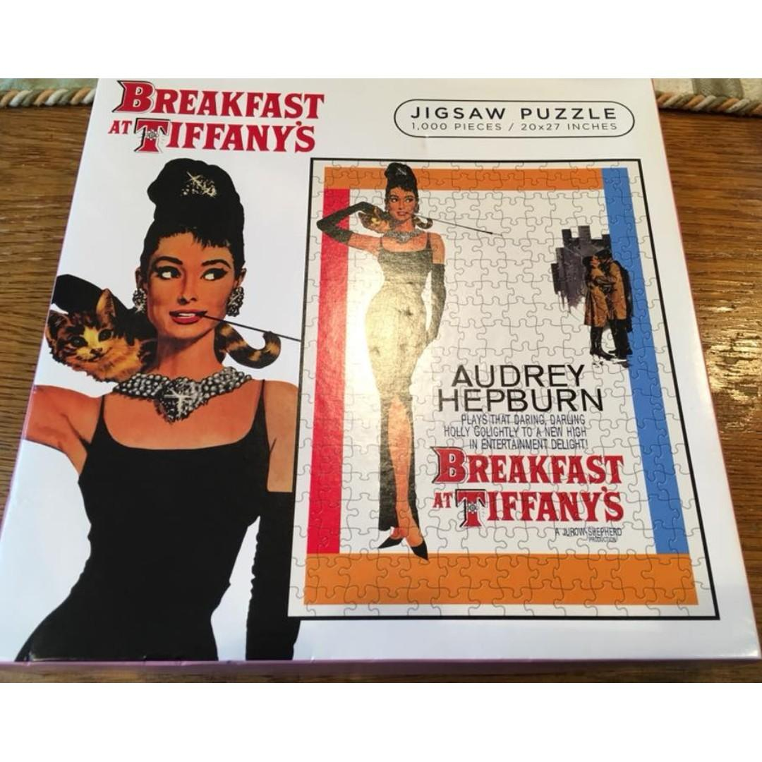 Breakfast at Tiffany's Jigsaw Puzzle - 1,000 pieces / 20x27 inches