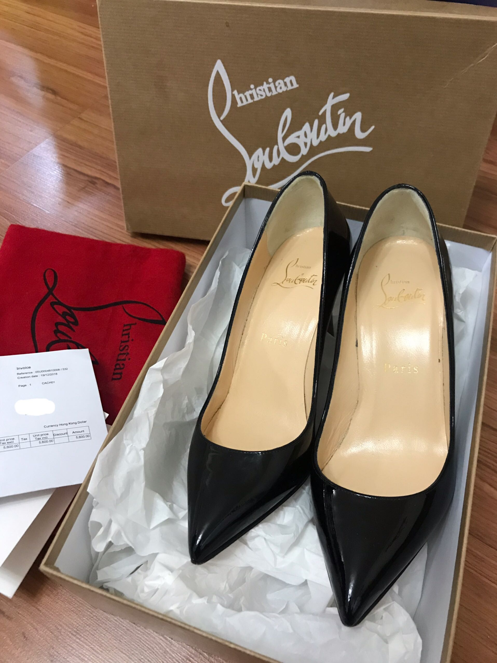 the best attitude 02e4b 0a9ed Christian Louboutin Pigalle 85mm Black