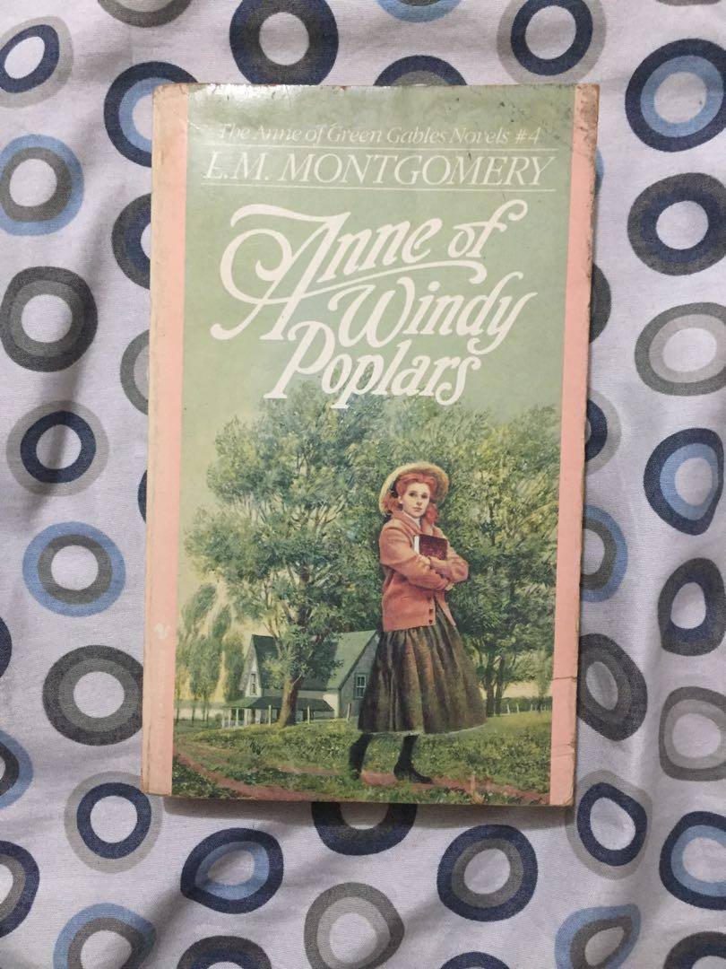 Classic paperback book: Anne of Windy Poplars by Anne Montgomery