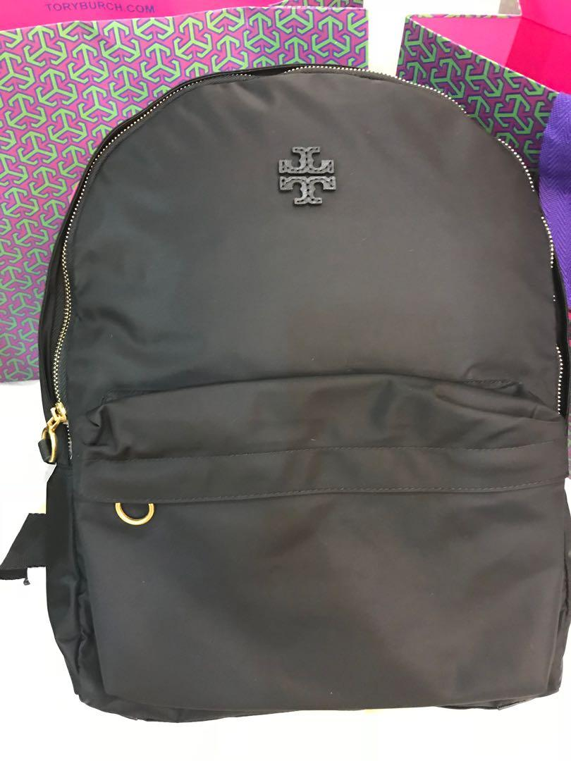 (CNY Sales) Authentic Tory Burch Nylon McGraw backpack