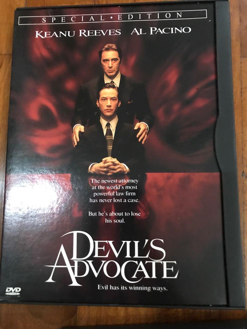 Devil's advocate special edition original dvd Keanu Reeves Al Pacino