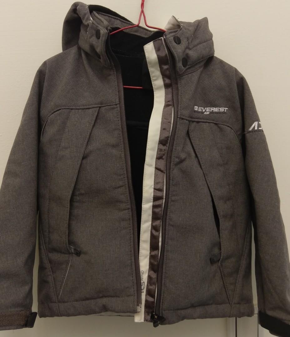 Everest童防潑水防寒外套
