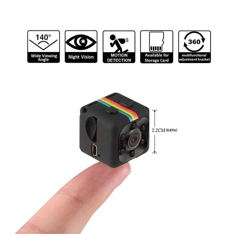 FANGTUOSI sq11 Mini Camera HD 1080P Sensor Night Vision.